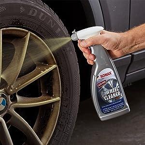 full effect wheel cleaner spray brake dust grime road car truck SUV