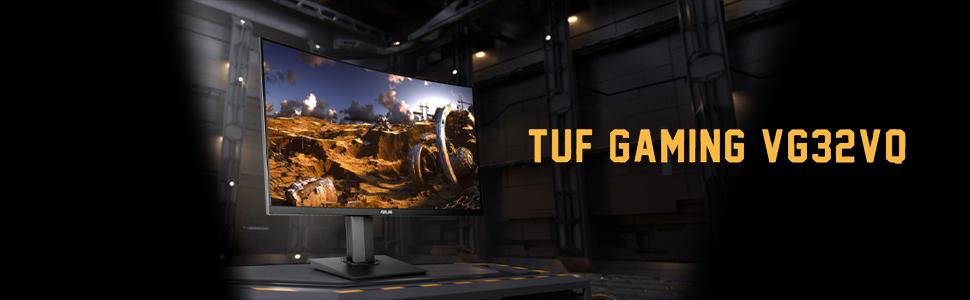 "Asus TUF Gaming VG32VQ 32"" Curved Gaming - tiendamia.com"