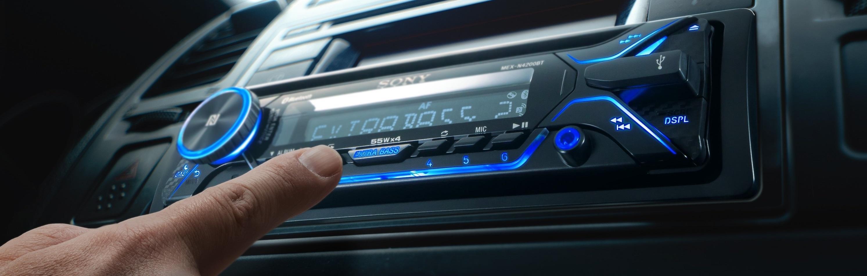 Auto Resume Cd Player Mp3 Mini Radio Wiring Harness For Model Cdm 7874 Sony Mexn4200bt Autoradio Mit Dual Bluetooth