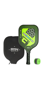 A11N GRAPHITE PICKLEBALL PADDLE-GREEN COLOR