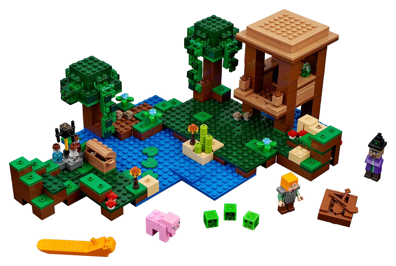 LEGO Minecraft Das Hexenhaus Amazonde Spielzeug - Minecraft hexenhauser