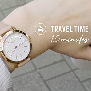 hybrid smartwatch; hybrid smart watch; smart watch; fossil q; women's smartwatch; women's watch