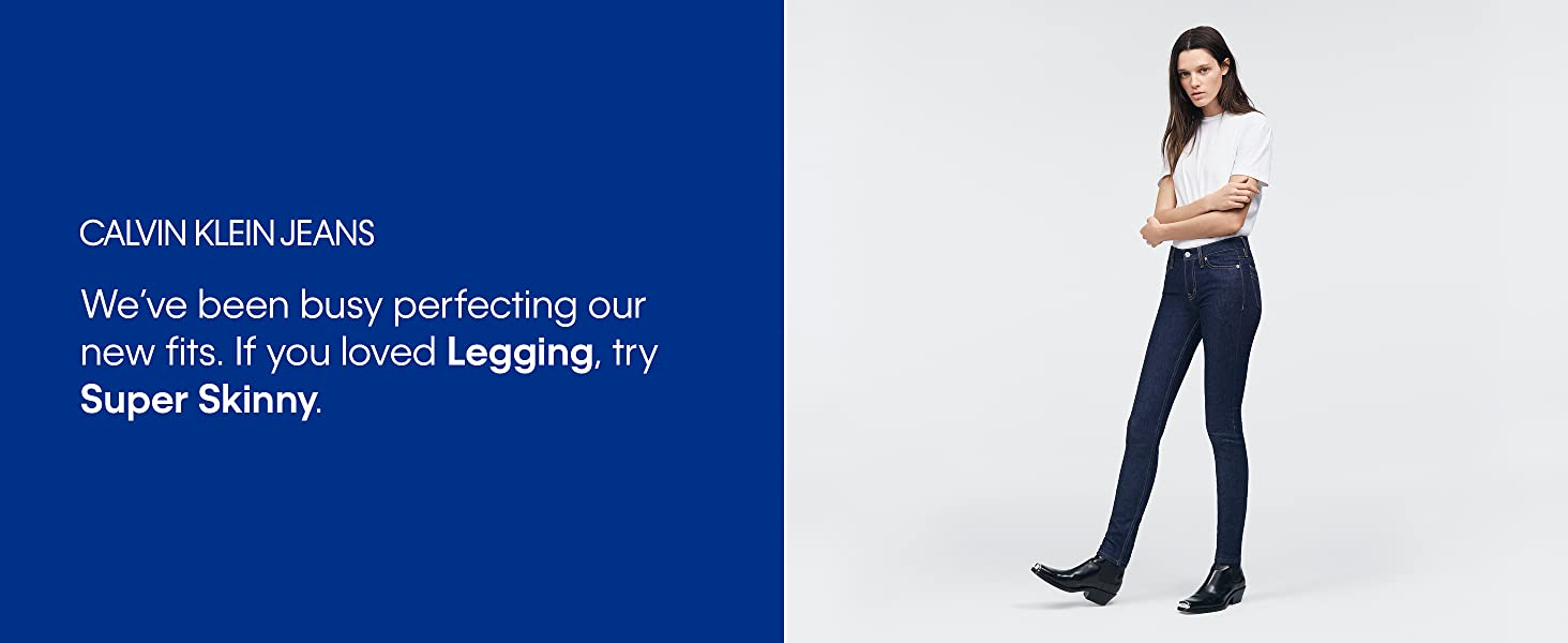 Amazon.com: Calvin Klein - Mallas vaqueras para mujer: Clothing