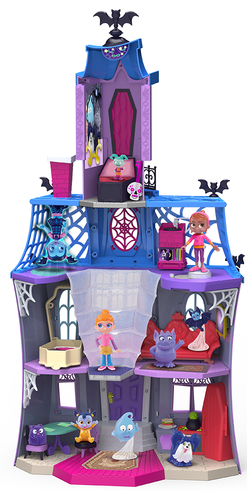 Disney Junior Vampirina 10 Piece SCARE B&B Playset Light ...