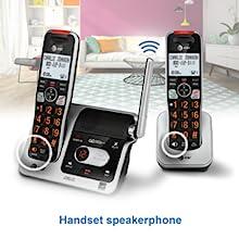speakerphone on handset