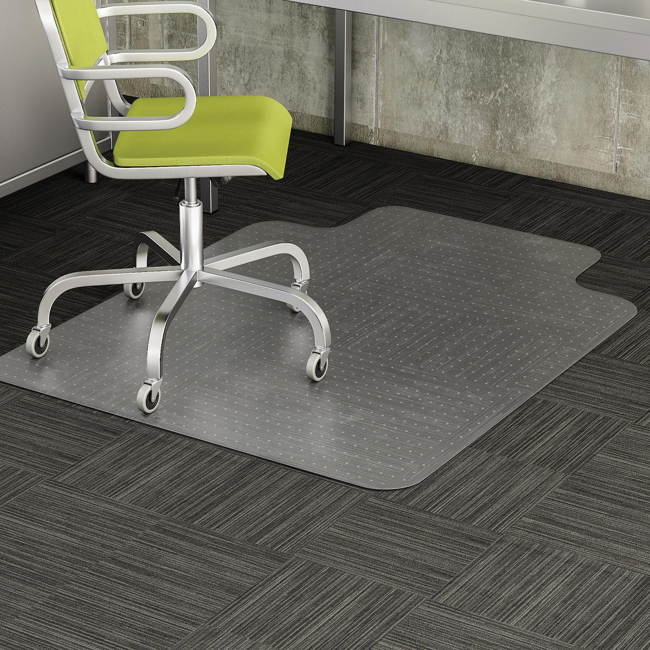 Amazon Deflecto DuraMat Clear Chair Mat Low Pile Carpet Use