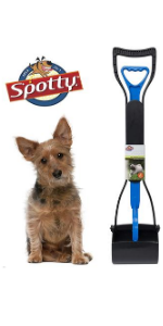 Spotty Easy Clean-Up Spring Action Waste Pooper Scooper