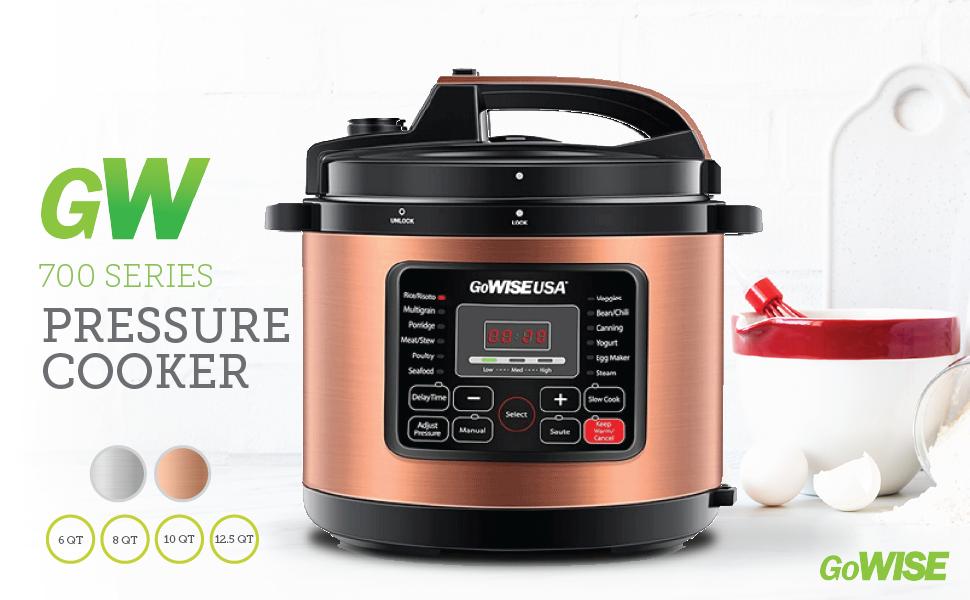 700 Series Pressure Cooker-copper