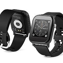 Technaxx, Smartwatch, Fitnesstracker, Gesundheit, Uhr, Armband, Fieberthermomether, Schrittzähler