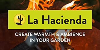 La Hacienda cover protection chinemeas firepits brand logo banner outdoor heating patio garden