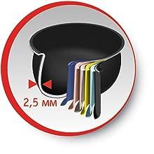 Moulinex MK812121 Maxichef Advance Robot de cocina con 45 programas de cocción, 5 L, 750 W, color Plata Premium