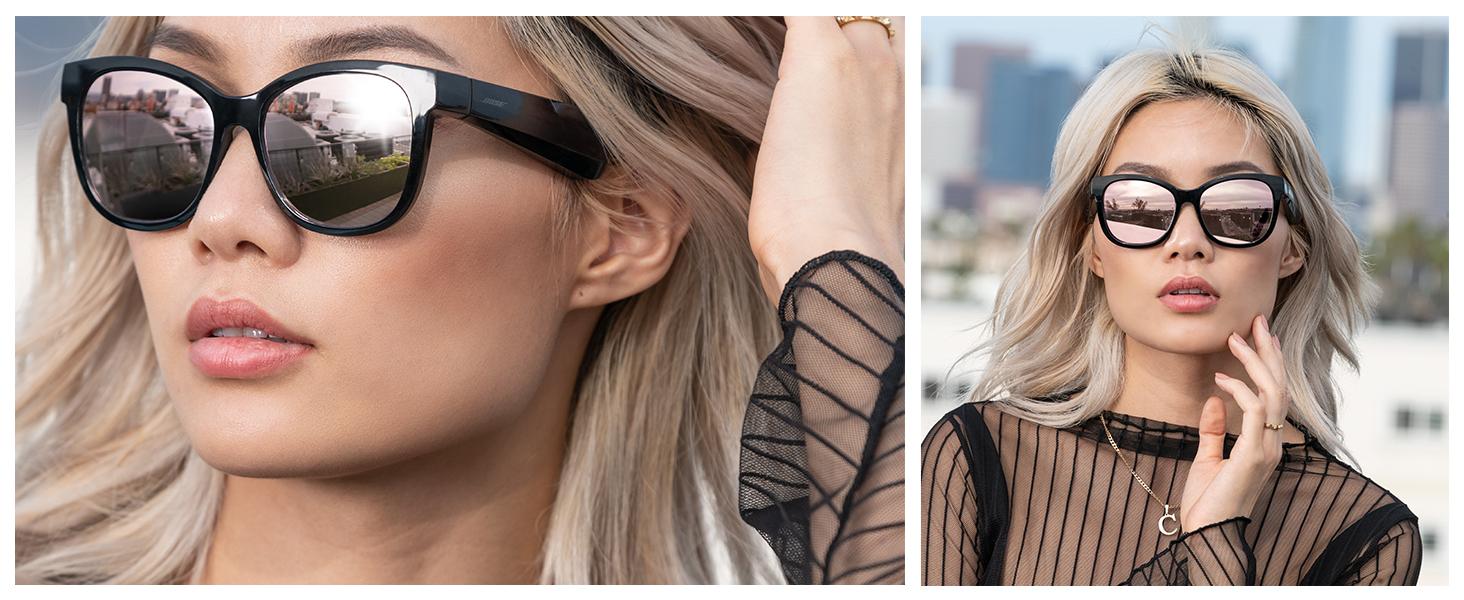 occhiali con diffusori, occhiali da sole con audio, occhiali da sole per la musica