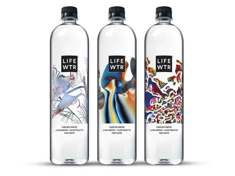 LIFEWTR, Premium Purified Water, pH Balanced with Electrolytes For Taste,  700 mL flip cap bottles