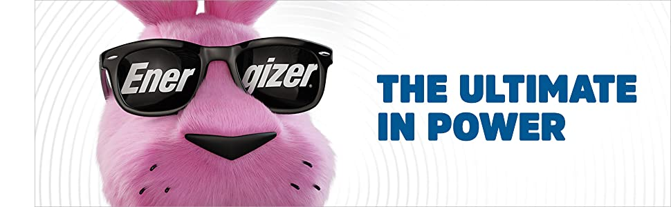The Ultimate in Power, Holds Power for up to 20 years in storage, Energizer Batteries. Leak Proof