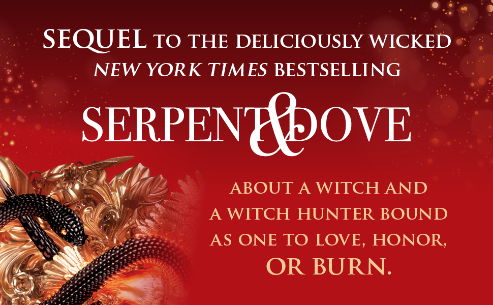 serpent & dove witch hunter love honor burn