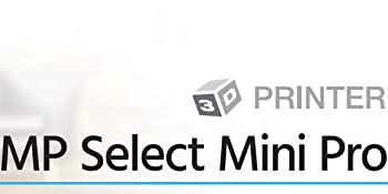 Monoprice 133012 Select Mini Pro 3d Printer Aluminum With 120 X