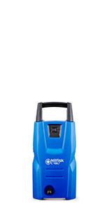 C100, compact range, nilfisk, high pressure washer, cleaning, outdoor, machine