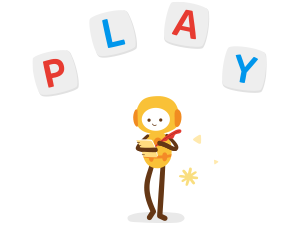 Letter games Learn to spell new words and work on current knowledge of spelling. Osmo play friend