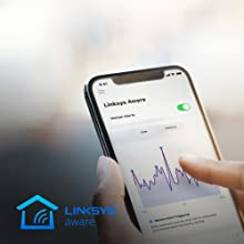 Linksys Aware, the first-ever Mesh WiFi motion sensing technology