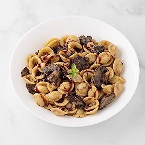 Balsamic Mushroom Orecchiette