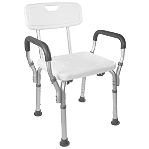 picture of shower chair with arm