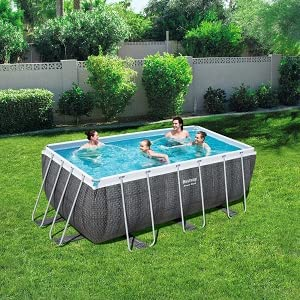 Bestway 56722 - Piscina Desmontable Tubular Power Steel ...