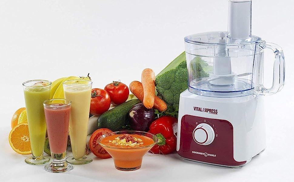 OFERTA BNAVIDAD!! Robot Multiprocesador Gourmet Tools Vital ...