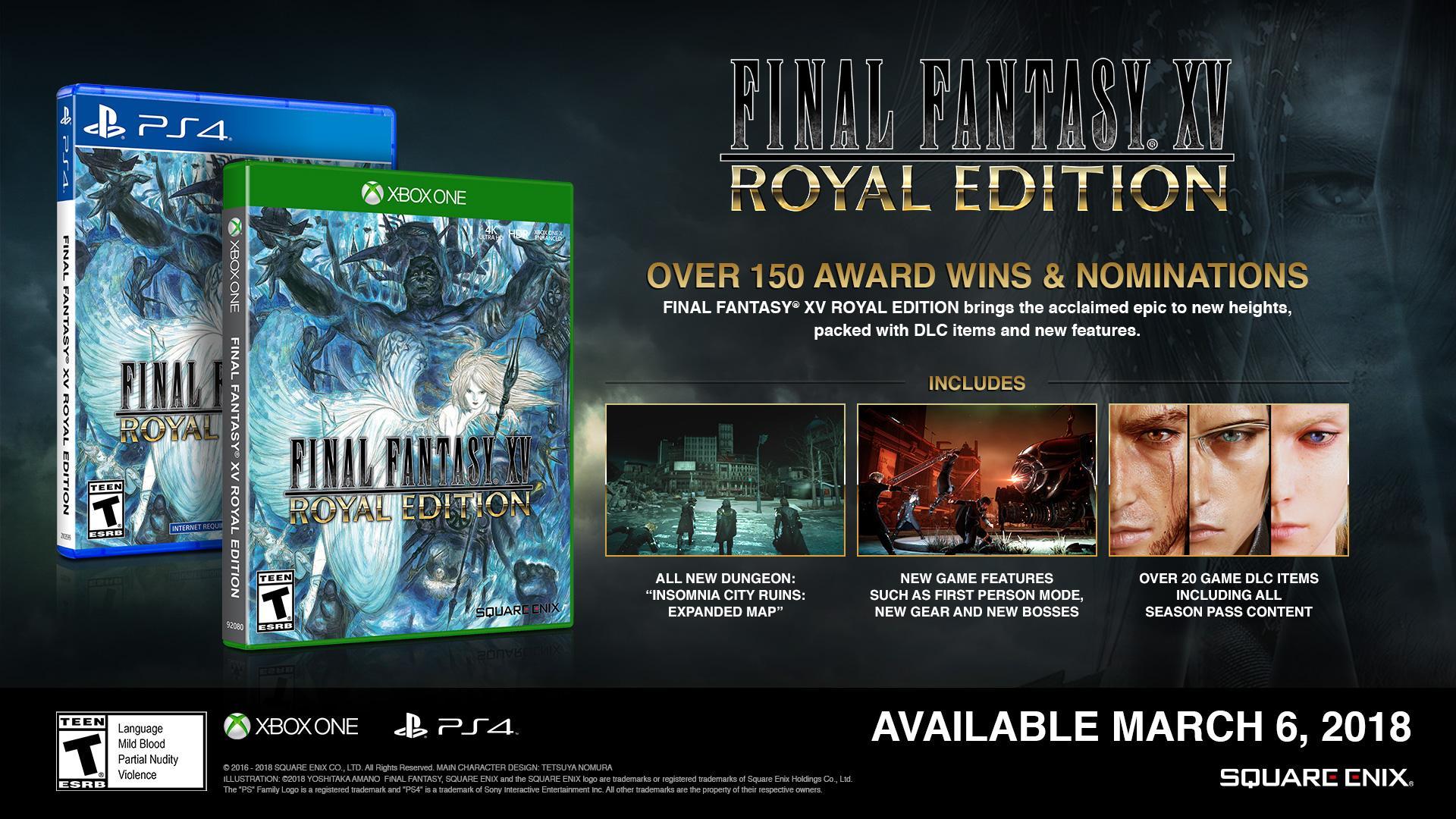 final fantasy xv royal edition xbox one gameplay