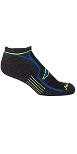 Bolt Quarter Running Socks