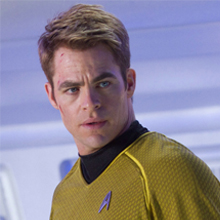 Chris Pine – James T. Kirk