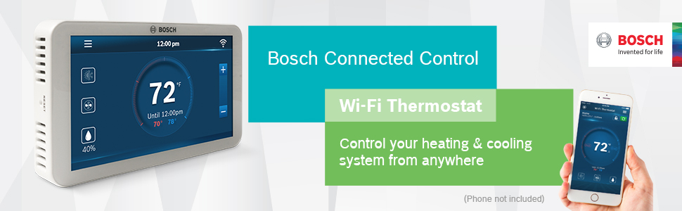 thermostat bosch temperature control