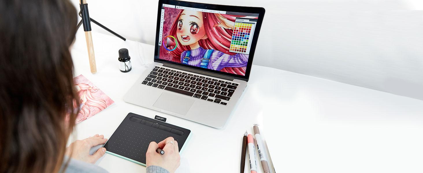 graphic tablet, drawing tablet, digital drawing tablet, art tablet, animation tablet, Huion