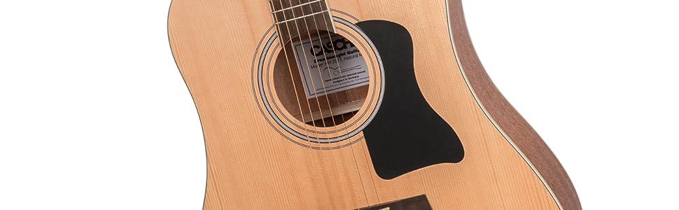 Musikinstrumente Hh 2141 De SchöNer Auftritt Akustische Gitarren Cascha Westerngitarre Bundle Mit Viel Zubehör