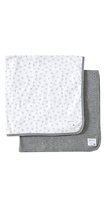 Burts bees baby 2pack blankets