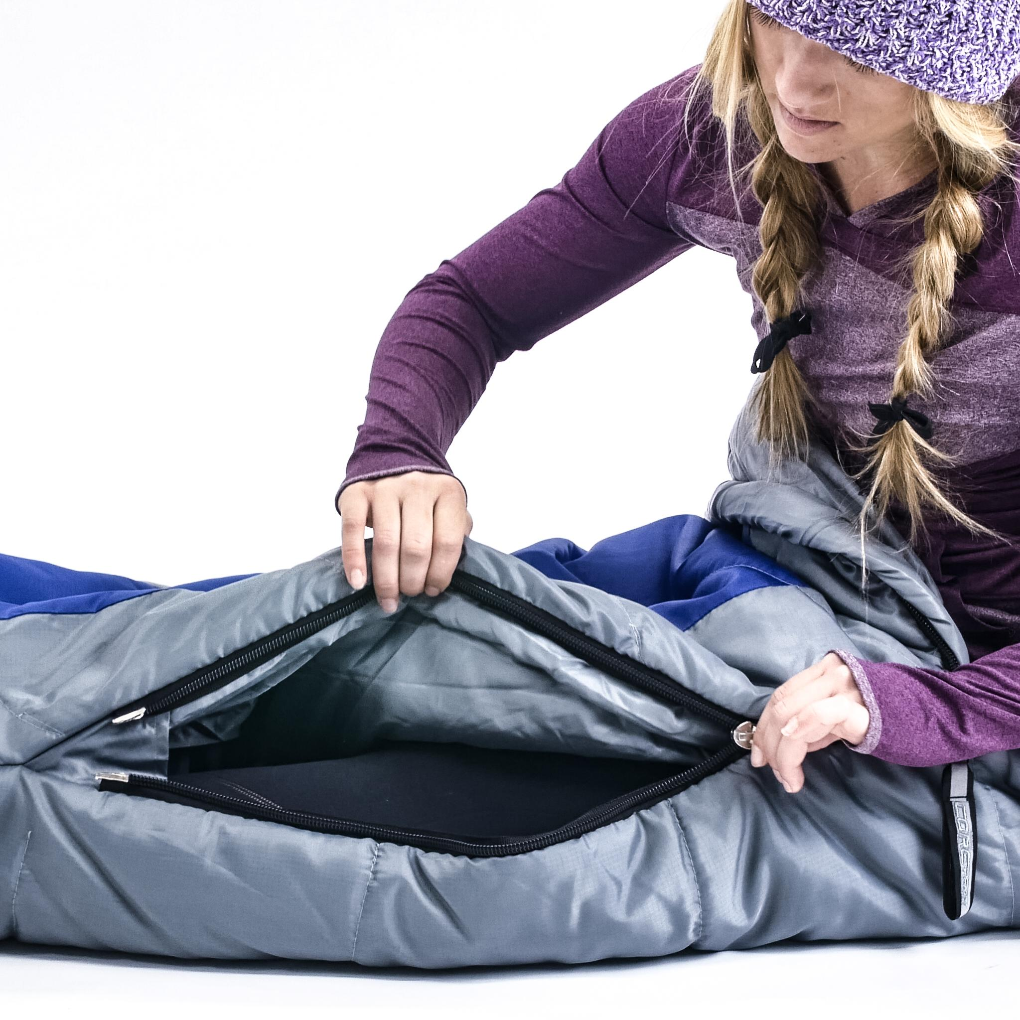 Northstar Tactical Coretech Sleeping Bag, Blue, 3.5-Pound ...