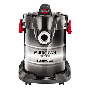 Bissell MultiClean W&D Drum - Limpiador Aspirador, 1500 W, 85 Decibelios, 23 L, color Negro/ Blanco: Amazon.es: Hogar