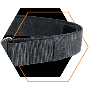 Tasmanian Tiger Equipment Belt MKII Set, with focus on the right side