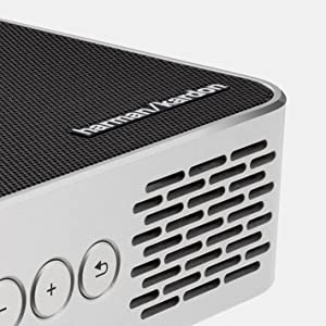 m1 projector harman kardon speakers