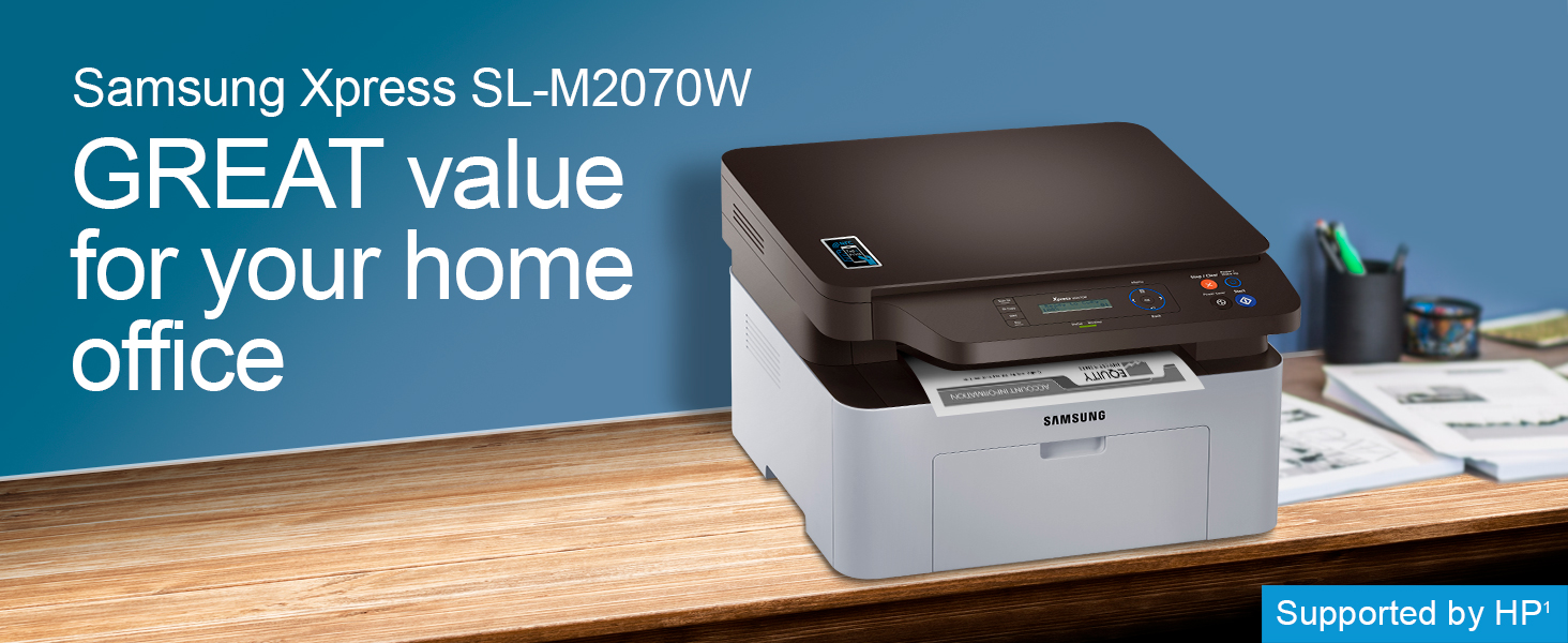 New Samsung Xpress SL-M2070W//XAC Multifunction Mono Laser Printer SS298H