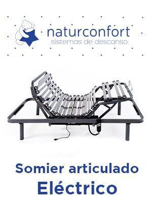 Naturconfort Somier Articulado Eléctrico, Madera, 150x190 ...