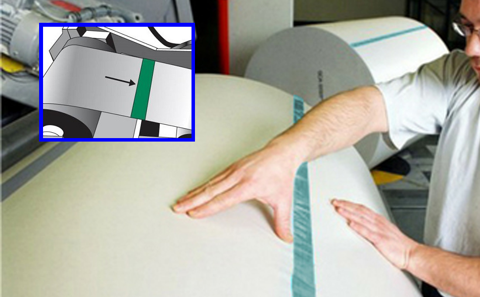 Green High Temperature Masking Splicing Tape E-coating Anodizing Electroplating Chemical Milling