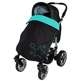 Byboom Baby Softshell Decke 70x100 Cm Frühling Sommer Herbst Thermo Aktiv Für Kinderwagen Buggy Jogger Farbe Braun Beige Baby