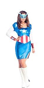 captain america sexy dress