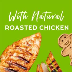 roasted chicken grain free soy free gingerbread man peanut butter healthy natural soft chewy cookie