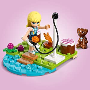 LEGO, Friends, toy, buggy, surf