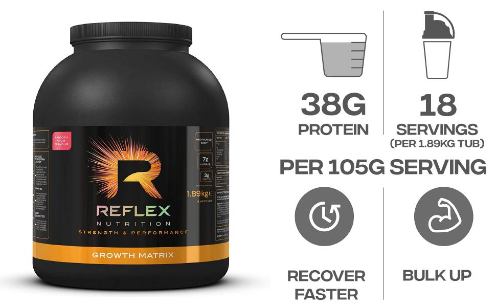 Reflex Nutrition Proteína En Polvo Reflex Nutrition Matriz De ...