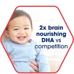 Enfagrow Premium Toddler Next Step has 26mg of DHA to help assure that rapid brain development is adequately supported. DHA, a brain-building omega-3 fatty ...