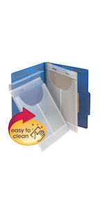 smead poly file retention jackets for file folders,legal,letter,office,home,classroom,projects