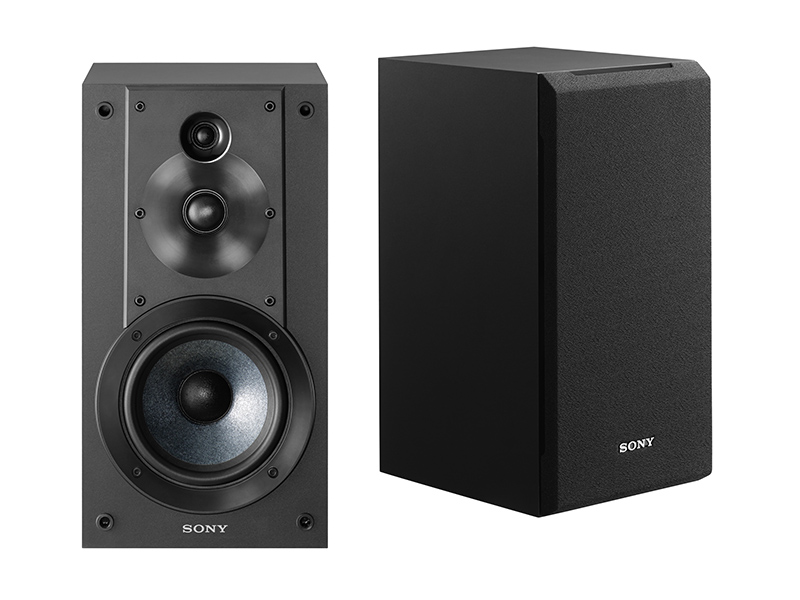 Sony SSCS9 9-Way 9-Driver Bookshelf Speaker System (Pair) - Black