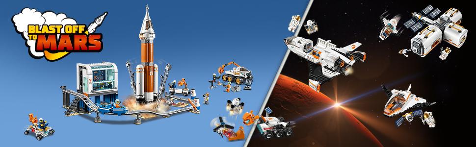Blast off to Mars Lego City